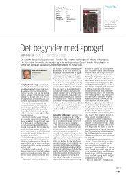 Det begynder med sproget - Formennska Íslands 2009