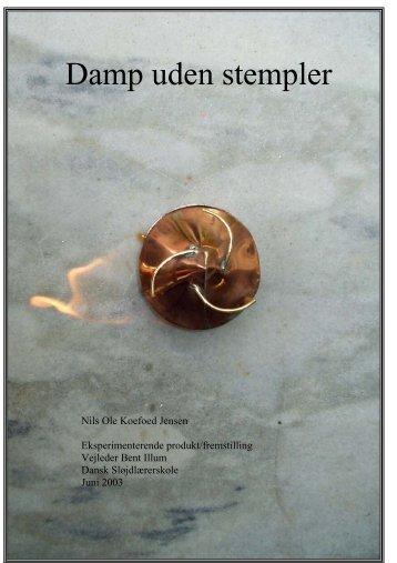 Damp uden stempler - dansk sløjdlærerskole