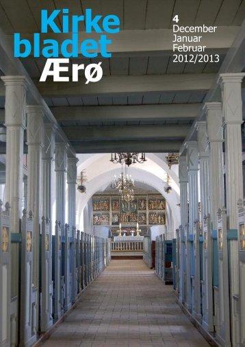 Kirkebladet nr. 4-2012 Vinter - Alt er vand ved siden af Ærø