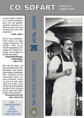 Fagblad 5-2007 - CO-SEA
