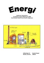 Energi - Undervisning på Esager.com