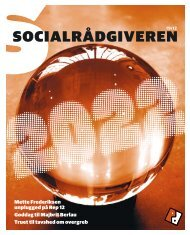 Socialrådgiveren nr. 19-2012 - Dansk Socialrådgiverforening
