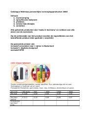 Catalogus Wellness persoonlijke ... - Geschenkenland