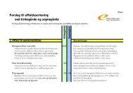 Forslag til affaldssortering ved kirkegårde og ... - Energitjenesten