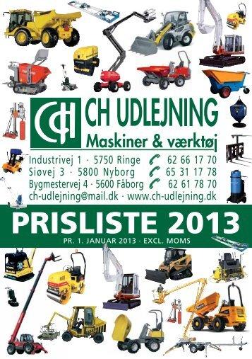 Hent katalog som PDF - CH Udlejning