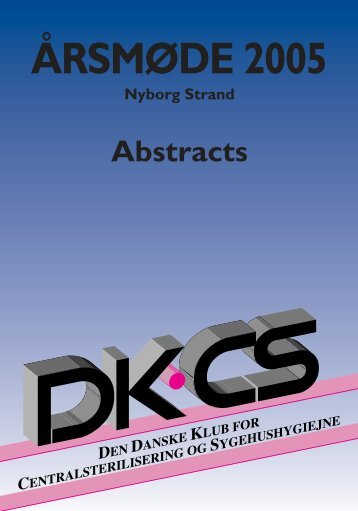 Årsmøde 2005- Abstract - DKCS