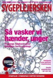 Sygeplejersken 2010 Nr. 7 - Dansk Sygeplejeråd