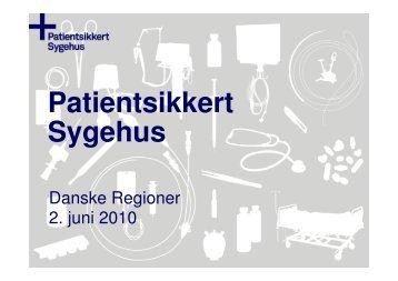 Se præsentationen - Sikker Patient