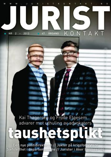 Juristkontakt 2 - 2013