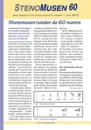 Nr. 60, juni 2013. (1,01 Mb) - Steno Museet