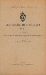 1. - Statistisk sentralbyrå