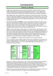 Kap. 8: Sortering og filtrering