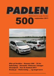 Padlen nr. 500 - Lyngby Kanoklub