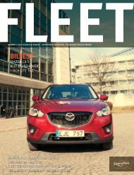 Fleet Nr 1 2012 - LeasePlan