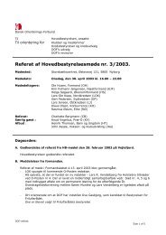 HB møde 3/2003 - Dansk Orienterings-Forbund