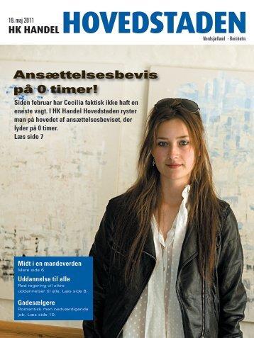 Ansættelsesbevis på 0 timer! - onlinecatalog.dk