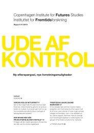 Copenhagen Institute for futures Studies Instituttet for fremtidsforskning