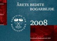 arets bedste bogarbejde - Forening for Boghaandværk