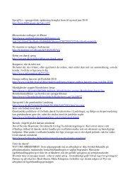 SprogNyt samlet til juni 2010 - David Kofoed Wind