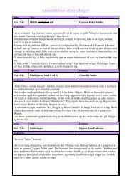 Anmeldelser af nye bøger - Terndrup Skole