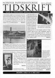 Arabisk papir - Föreningen Nordiska Pappershistoriker