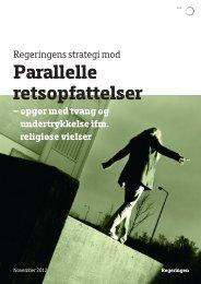 RegeRingens sTRATegi MOD PARALLeLLe ... - Social