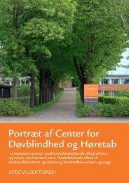 Portræt af CDH - Center for Døvblindhed og Høretab - Region ...