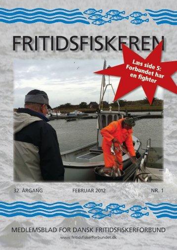 Blad nr. 1 - Dansk Fritidsfiskerforbund