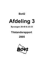 03 Tilstandsrapport 2005 forside - Bo42