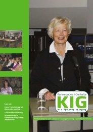 KIG nr. 2. 2009 - Den konservative Vælgerforening i Gentofte ...