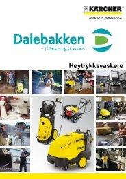 Høytrykksvaskere - Dalebakken Maskin AS