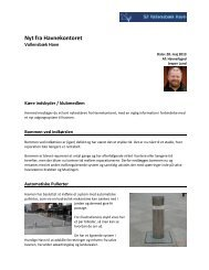 Nyt fra Havnekontoret – Maj - Vallensbæk Havn