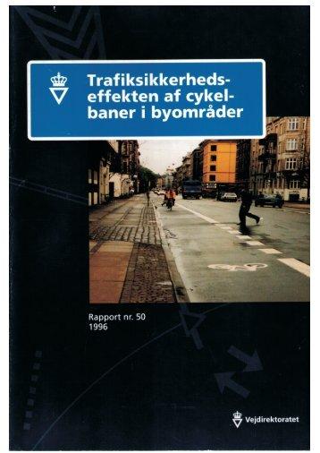 Trafiksikkerhedseffekten af cykelbaner i byområder - Cykelviden