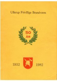 Festskrift fra 50 års jubilæet i 1982 - Ullerup frivillige brandværn