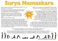 Surya Namaskar - Padma Yoga Skole