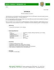 Datablad 162-serie - Bøgh Consult Denmark A/S