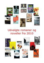 Udvalgte romaner og noveller fra 2010 - Lemvig Bibliotek