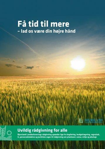 Uvildig rådgivning for alle - Djursland Landboforening