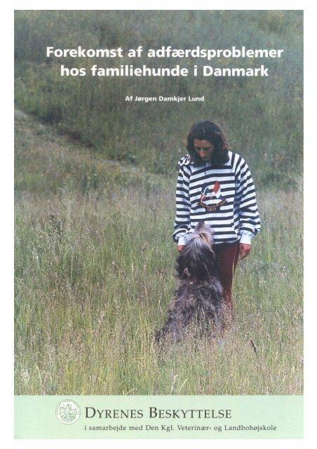 Forekomst af adfærdsproblemer hos familiehunde i Danmark