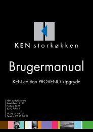 KEN edition PROVENO kipgryde - KEN Storkøkken