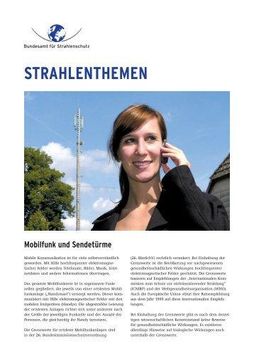 STRAHLENTHEMEN - Bundesamt für Strahlenschutz