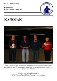 Nr. 1 - februar 2005 - Kajakklubben Esrum Sø