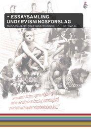 De komplekse rettigheder - opgavehæfte (pdf) - Amnesty International
