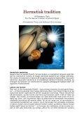 HERMETISK TRADITION - Rosemary Clark - Visdomsnettet - Page 3