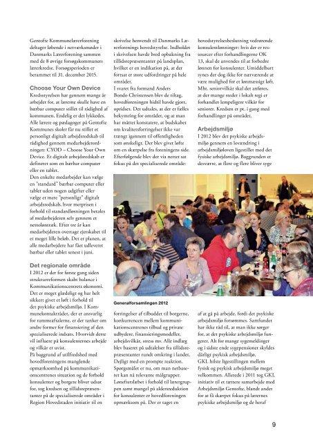 GKL-bladet marts 2013 - Gentofte Kommunelærerforening