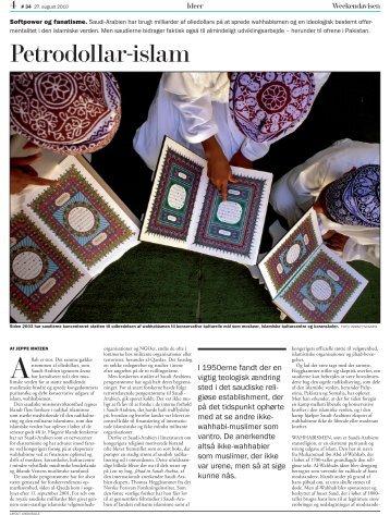 Petrodollar-islam - Thomas Hegghammer