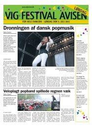 Dronningen af dansk popmusik - Vig Festival