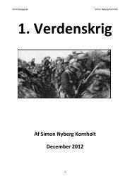 1. Verdenskrig - VUF Historie hold 643