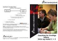 DGI Sønderjylland: Kurser for foreningsledere - Nustrup