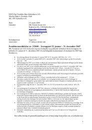 Årsrapport 2007 - Forside - DKTI A/S